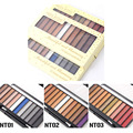 3 Pcs/Lot New South America 12 Colors Eye Shadow Makeup Colorful Shimmer Eyeshadow Smokey Eyeshadow Palette Cosmetic Makeup Set