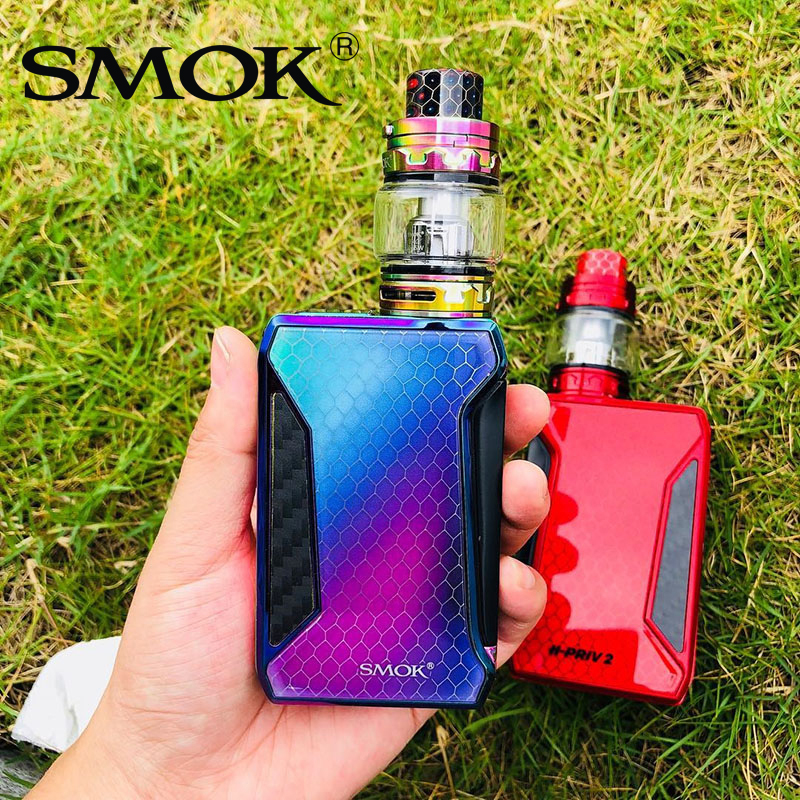 Original SMOK H Priv 2 Kit 225W Display Box Mod 6ml TFV12 Big Baby Prince Tank