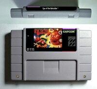 Eye Of The Beholder RPG Game Cartridge Battery Save 16 Bit 46 Pin USA Version