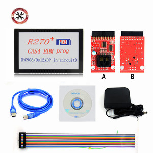 Image 1 - Original R270+ V1.20 Auto CAS4 BDM Programmer R270 CAS4 BDM Programmer Professional for bmw key prog free shipping