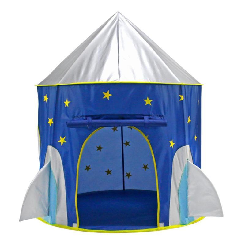Date Tissu Outer Space Ship Pliage Jouet Tente Yourte Enfants Jouer Maison Enfants Cadeaux Robuste Maison de Jeu Pour Enfants Cadeau jouet