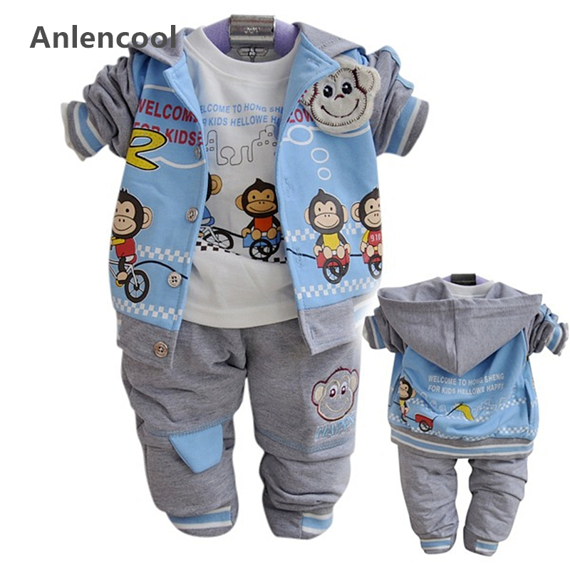 Anlencool Free shipping  Kids monkey suit boys sport casual wear section Baby Sportswear baby clothing set spring and autumnAnlencool Free shipping  Kids monkey suit boys sport casual wear section Baby Sportswear baby clothing set spring and autumn