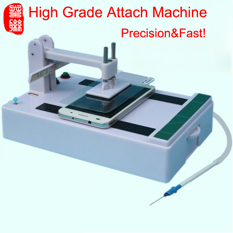 Fanaticism All Size Automatic Screen Protector Attach Machine DIY Universal Mobile Screen Film Machine For IPhone X 8 7 Samsung