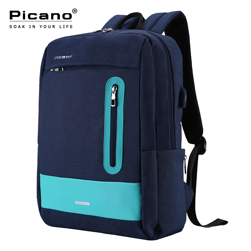 Picano Quality School Bag Girls Orthopedic Backpack Primary Student Notebook Bags for Teenagers USB Charge Travel Daypack PCN022Picano Quality School Bag Girls Orthopedic Backpack Primary Student Notebook Bags for Teenagers USB Charge Travel Daypack PCN022