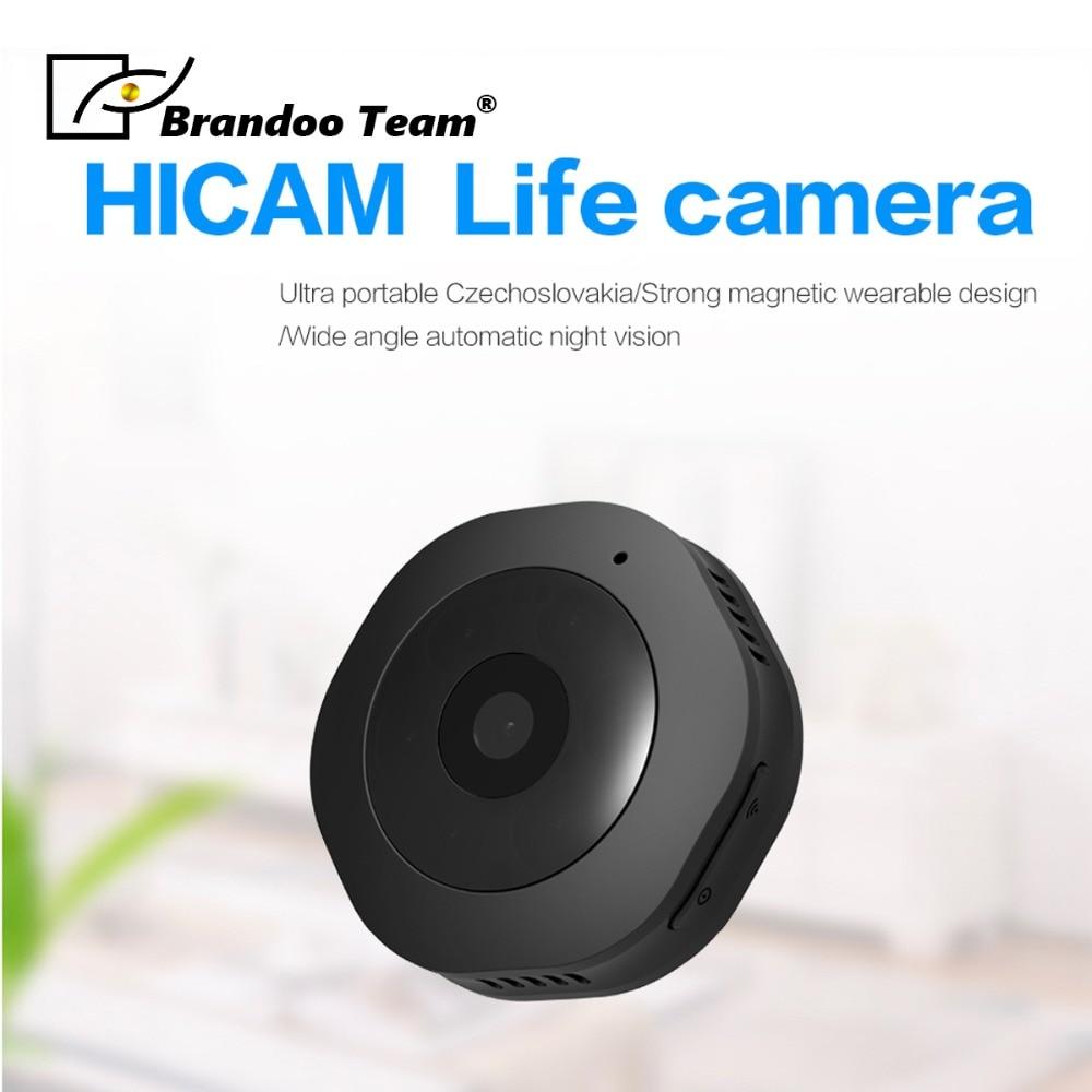 Promotion BRANDOO Mini WiFi H6W Camera 1080P Full HD Night Vision Small Portable Motion detection DV