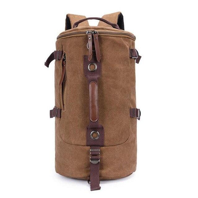 a921a97ea9a3 ... Backpack  low priced 13539 bd06b Large capacity Handbags Barrel bag Men  shoulder bag Travel mens bags Multi ...