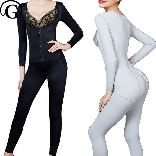7bf50e19fb1 PRAYGER Plus Size Women Slimming Full Body Push Up Bras Shapewear Control  Control Thigh Butt Lifter