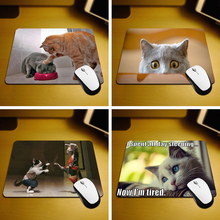 MaiYaCa Funny Animals Cats New Size Mouse Pad Non-Skid Rubber Pad 18*22cm and 25*29cm