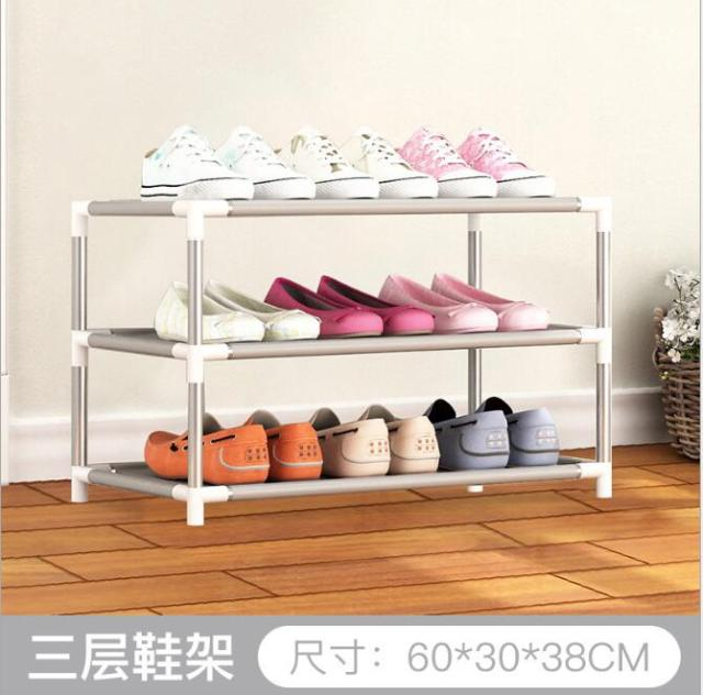 Shoe Rack PP Plastic Spray Iron Over The Door Hanging Shoes Organizer  Storage Holder Closet Box