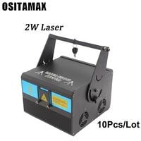 10 шт Лидер продаж Rgb дома освещения сцены с эффектом DMX лазерной прожектор для дискотеки огни Dj прожектор для вечеринок