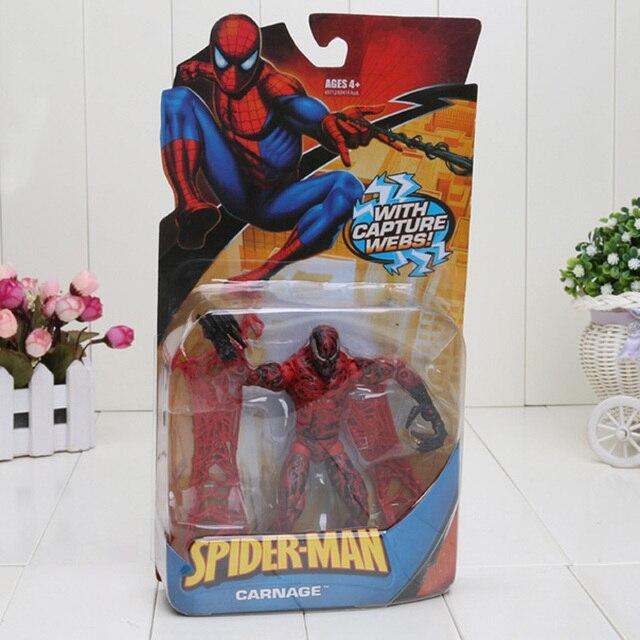 15 cm super hero spiderman carnificina lagarto venom figura de ação pvc figuras de brinquedo crianças spiderman
