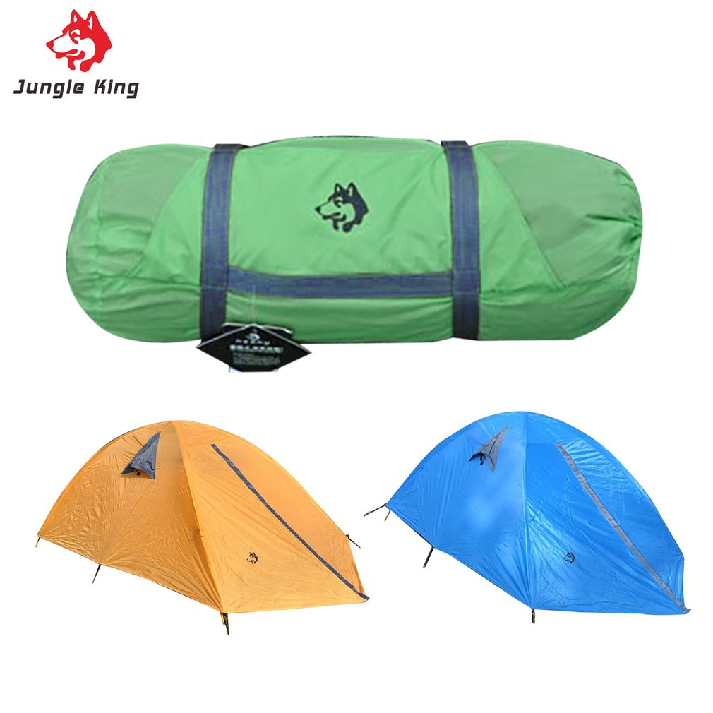 Glass Fiber Fiberglass Rod Camping Tent For Outdoor Travel Hiking Climbing Picnic Beach Tent Rainproof Windproof Waterproof high quality outdoor 2 person camping tent double layer aluminum rod ultralight tent with snow skirt oneroad windsnow 2 plus