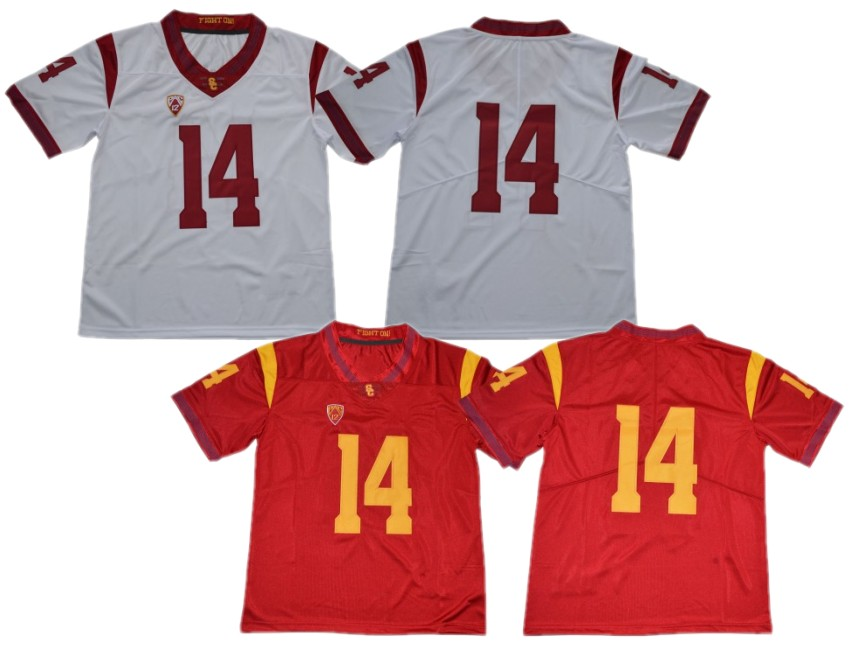 best website 36c76 50678 Buy usc jersey mens and get free shipping on AliExpress.com