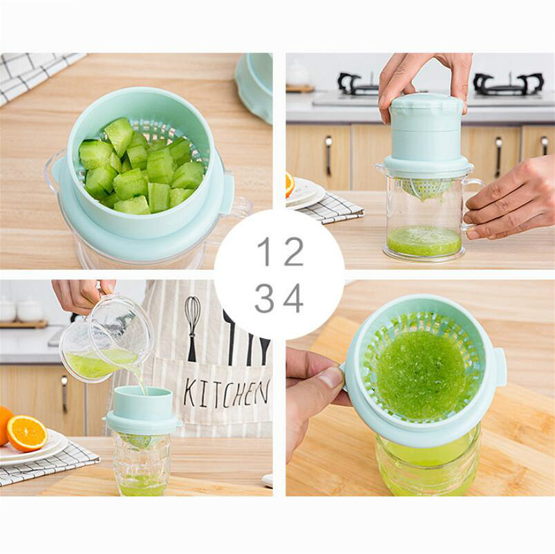 Manual Juicer Creative Household Mini Juicer Cup Portable Juicer Home Kitchen Supplies in Manual Juicers from Home Garden
