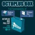 Trabalho Original Octoplus Box com 27 pcs cabos para Samsung e PARA LG + Medua JTAG + Frete Grátis