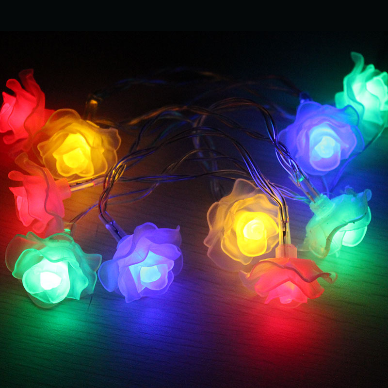 10LEDs Festival Home Lighting Decoraiton Battery Operated String Lights Christmas Fairy Lights LED Luces Decorativas