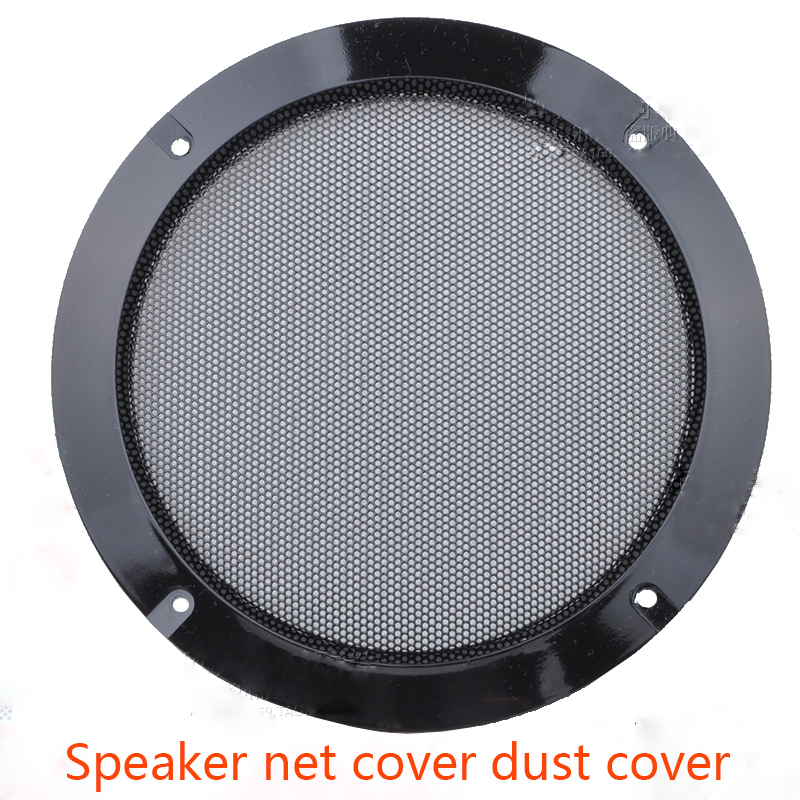 2 inch / 3 / 4 / 5 / 6 / 8 / 10 inch speaker cover speaker dust protection mesh decorative ring connector black iron mesh 1 pair car horn dust proof cover speaker decorative circle