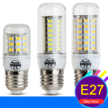 Led Lamp SMD 5730 E14 Led Bulb Light 220V 24 36 48 56 69 72 96 LEDs Velas Corn Light Chandelier Spotlight  Lampara Led E27