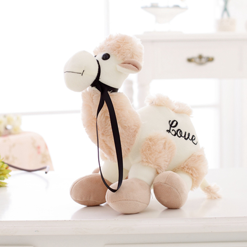 Nooer Cute Soft Camel Plush Stuffed Toy Creative Camel Plush Animals Doll Children's Gift Kids Baby Toy Free shipping