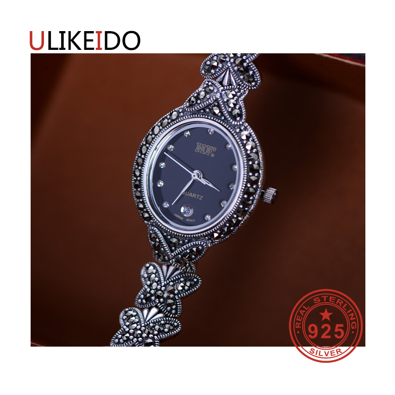 100% Pure 925 Sterling Silver Watch Men Fashion Hand Chain For Women Thai Silver Jewelry Charm Bracelet Homme 1510100% Pure 925 Sterling Silver Watch Men Fashion Hand Chain For Women Thai Silver Jewelry Charm Bracelet Homme 1510