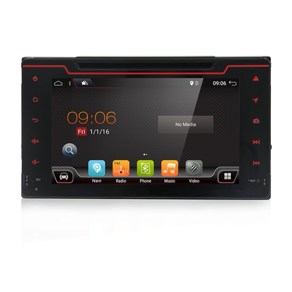 2din car radio GPS Navi Bluetooth USB 8