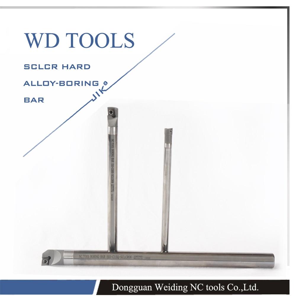 2016 Carbide Inserts Free Shipping C06J-SCLCR04  4mm Cutting Tools Cnc Turning Tool Lathe Machine Internal Metal Boring Bar