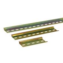 Универсальный тип 35 мм C45 стальная шлицевая din-рейка DZ47 открытый выключатель переменного тока контактор клеммные блоки для амперметра 10 см/20 см/30 см