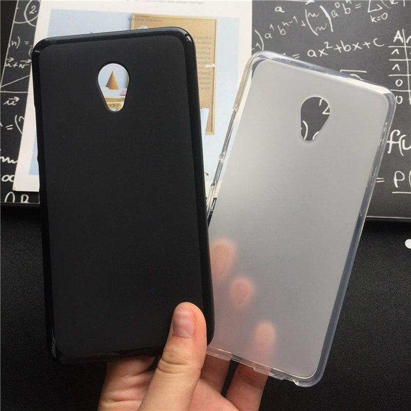 Soft Silicone Protective Back Cover Cases for MeiZu M3 Mini / M3S /M3S Mini TPU Mobile Phone Case Black Para Original Coque