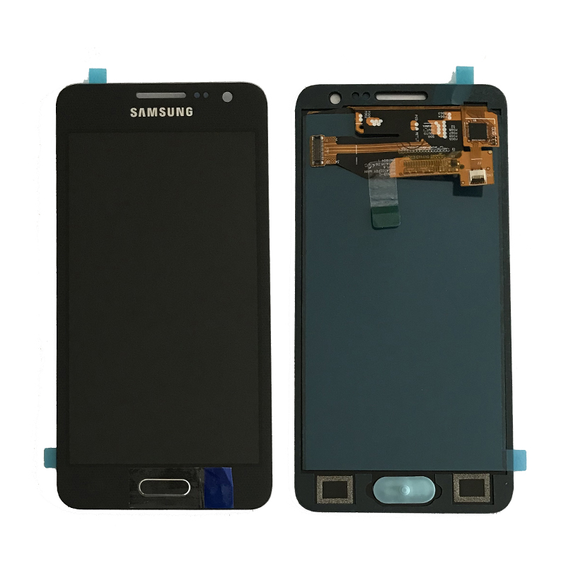 Can be adjust brightness For Samsung Galaxy A3 2015 A300 A300H A300F A300M lcd Display Touch Screen Digitizer with home button