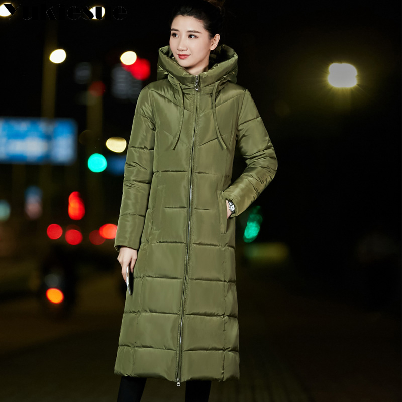 fea5626a811 Long warm thicken winter jacket women snow wear cotton padded outerwear for  women womens coat plus