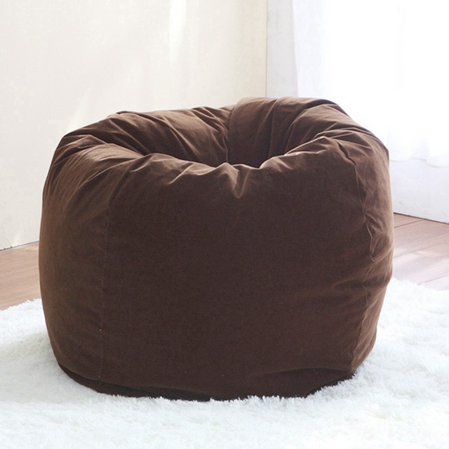 Removable Bean Bag Chair Leisure Sofa Bed Living Room Corner Furniture Lazy Computer