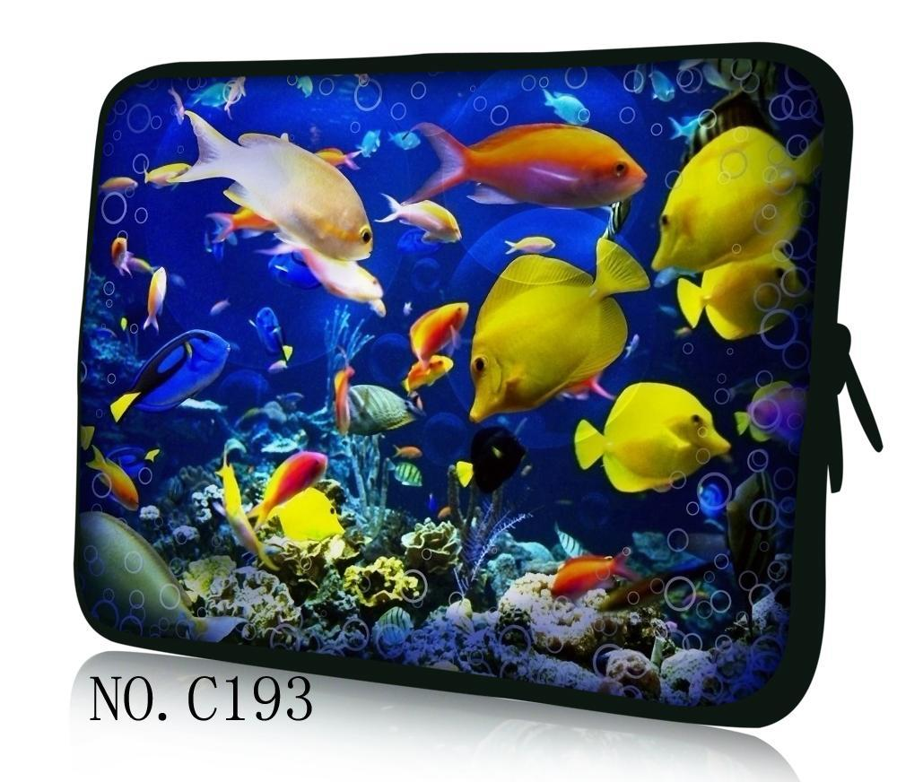 Fishes 11 12 13 14 15.6 inch Laptop Bag Notebook PC Sleeve Case Pouch for woman for hp macbook sony 11.6 13.3