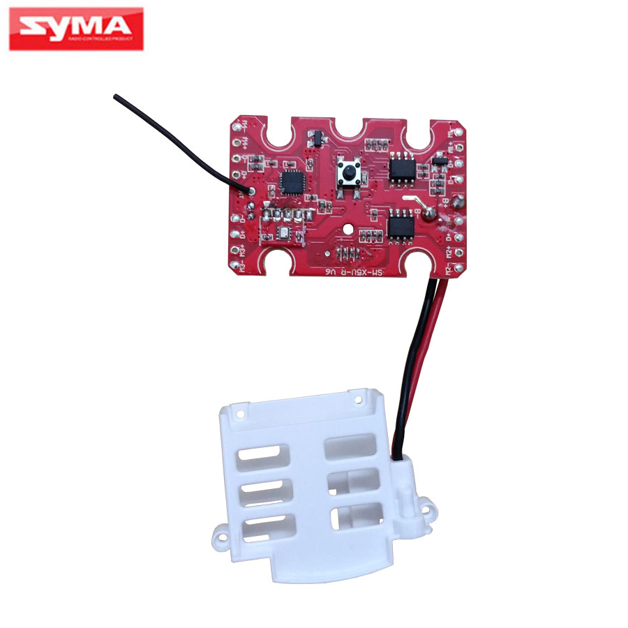 Original Syma X5UC X5UW PCB Receiver Circuit board For RC Helicopter Spare Parts syma x8hg x8hw x8hc pcb receiver main board gear spindle sleeve iron needles lampshade blade covers rc helicopter spare parts