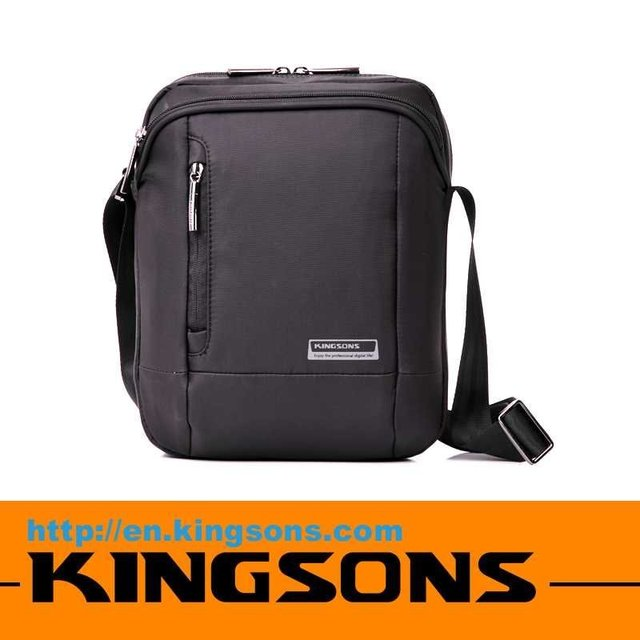 "New arrival Kingsons brand 9.7"" nylon messenger bag case for ipad high quality waterproof 20pcs"