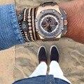 Pumped eye men macrame bracelets Anil Arjandas Bracelet Wristbands pave zirconia 2017 pulsera Para Los Hombres Bracciali