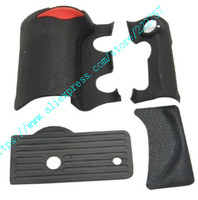 NEW A Set Of 4 Pieces Grip Rubber Cover Unit For Nikon D200 Digital Camera Body