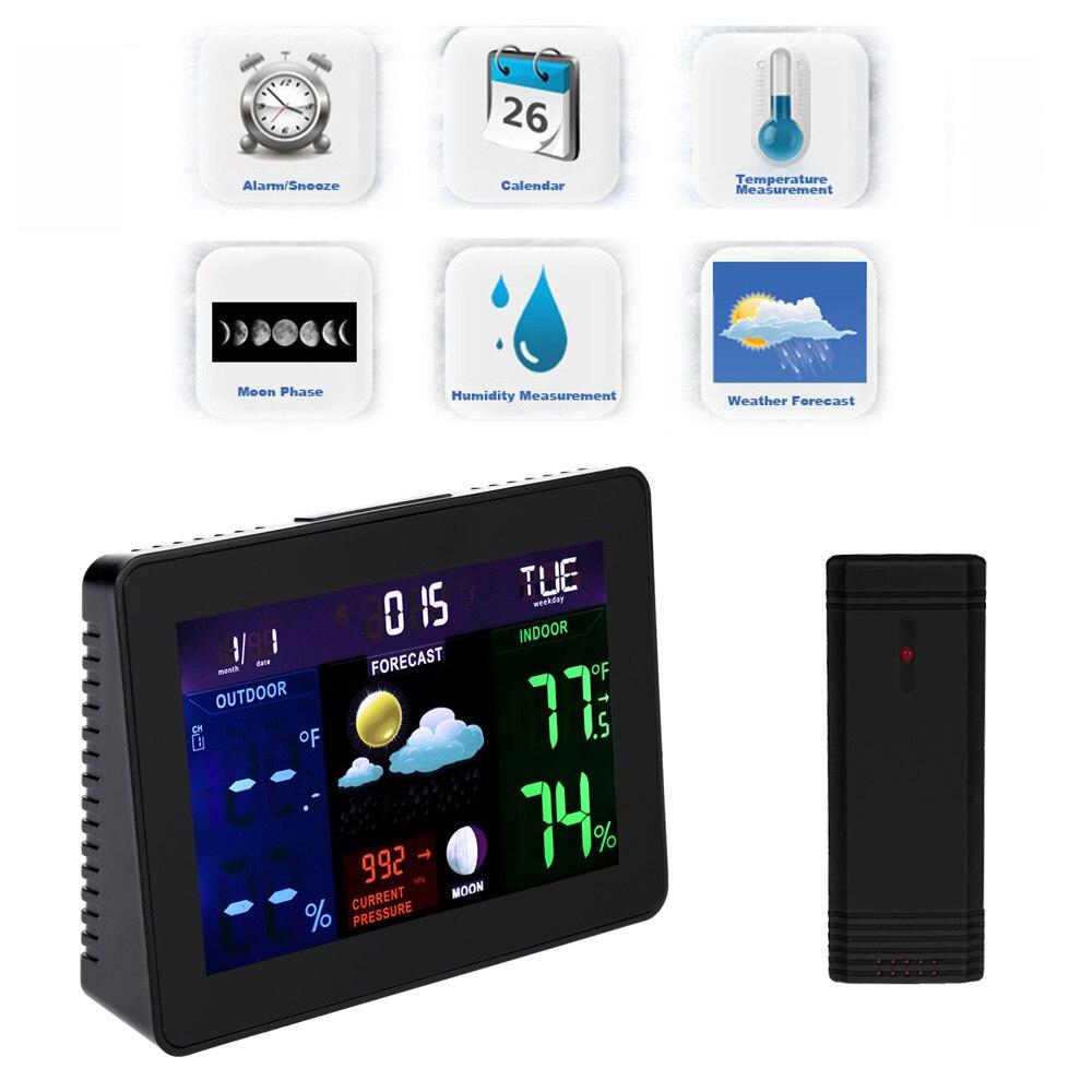 Int rieur ext rieur thermom tre achetez des lots petit for Thermometre exterieur wifi