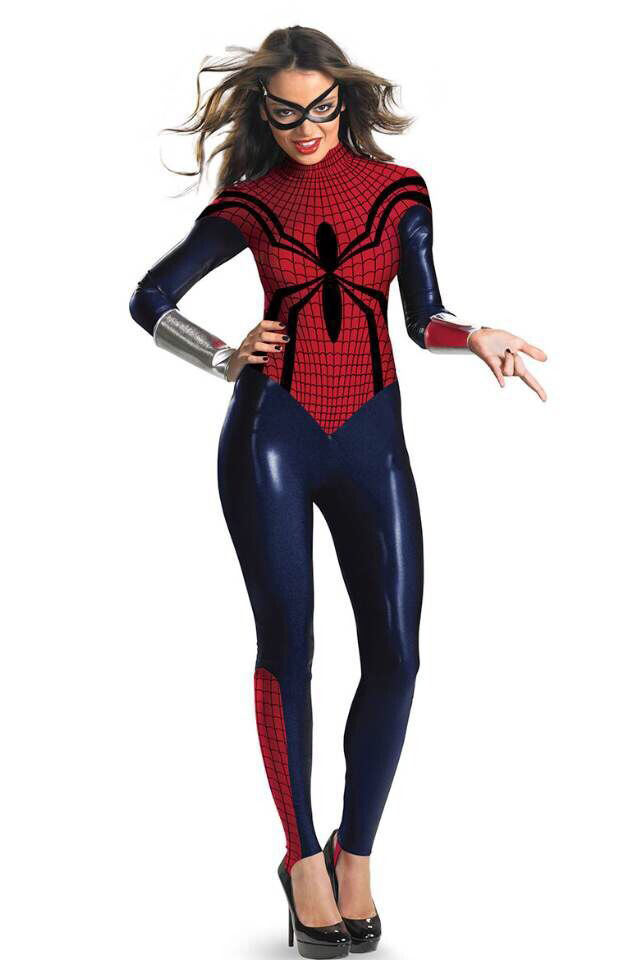 Cosplaydiy superhero Costume Suit Costumes Adults Women Girl Jumpersuit Sexy Cosplay Clothing BodySuit