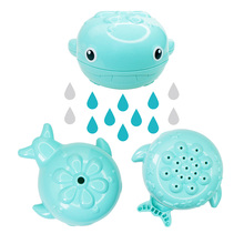 Cute Baby Bath Toys Plastic Whale Shape Water Spray for Baby Newborn Shower Swimming Toys Gifts