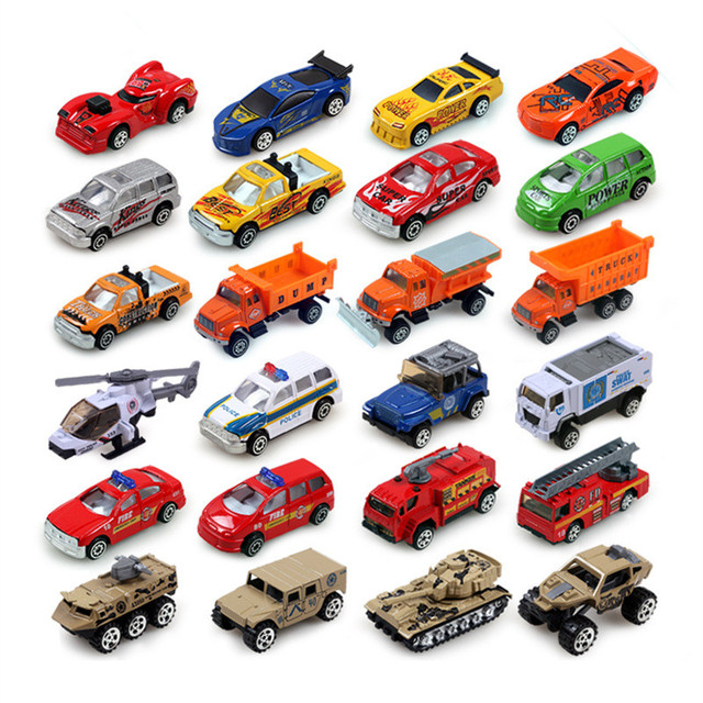 Toy Trucks For Four Year Old Boys : Pc metal alloy cars model toys for boys toy