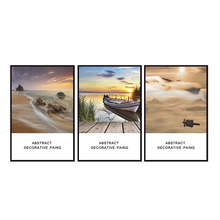 Factory wholesale (No Framed) Landscape poster series Canvas Print On Printing Wall Pictures 12YM-A-641