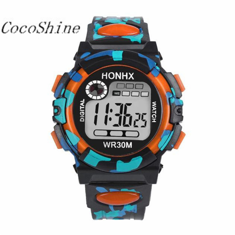 Kids Child Boy Girl Watches Wrist Watches Moment Clock Multifunction Waterproof Sports Electronic Watches Wholesale 20