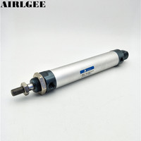 25mm Bore 100mm Stroke Double Acting Pneumatic Cylinder Giins Free Shipping