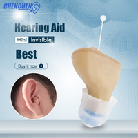 High Quality Hearing Aids Low Noise Mini In Ear Sound Amplifier Invisible Hearing Aids for Elderly Deafness Ear Care