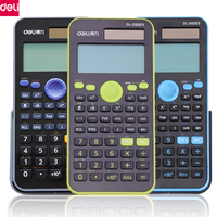 Deli Multi Function Scientific Calculator LED Display 12 Digits Function Calculator For Office School Stationery