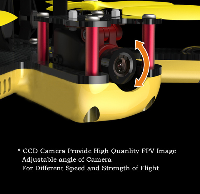 EMAX Nighthawk Pro 200 PNP RC FPV Racer Drone 5.8G Transmitter RS2205 2300KV Motor F3 Flight Control Camera Racing Quadcopter