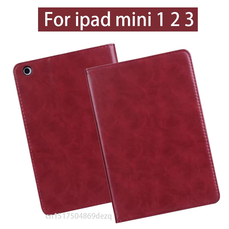 cover case For New iPad Mini 2 Mini 3 Retina Protect Smart Case with Auto Sleep for iPad mini 1 2 3