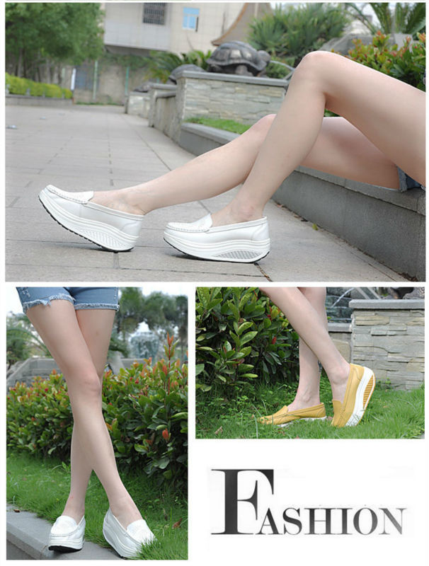 New Womens Shake Shoes Lady Genuine Leather shoes (29)