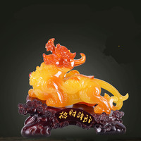 Pi xiu decoration a pair of lucky desktop opening gifts home decoration statue of resin ornament Men and women all appropriate