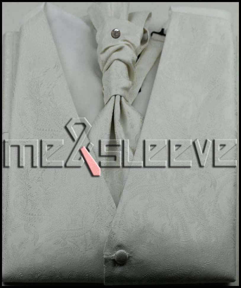 microfiber fabric dress Bridal ivory colour Tuxedos man s polyester waistcoat 4pcs